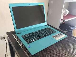 Acer e14 e5-473G i3-5gen 1tb 4gbram
