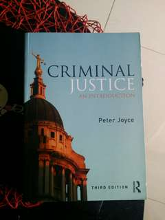 Criminal Justice ( An Introduction) New Ed
