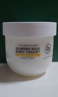 🚚 The Body Shop Almond Milk Body Yogurt
