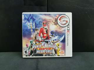 3DS Power Rangers Super Megaforce (Used Game)