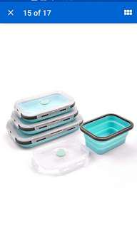 Silicone Collapsible Food Container 350ml
