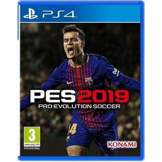 [Aug 30] PS4 Pro Evolution Soccer 2019 PES Sony PlayStation Konami Sports Games PREORDER