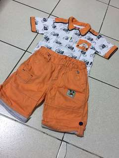 Mickey Mouse and Friends Shirt and Short Set