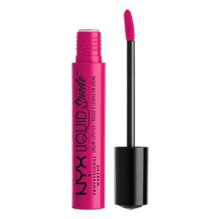NYX Cosmetic Pink Lust Liquid Suede Cream Lipstick