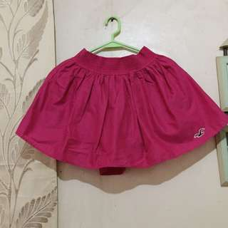 Hollister pink skirt