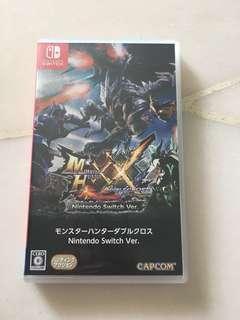 Nintendo switch Monster Hunter X X