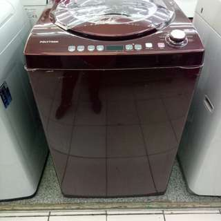 Polytron mesin cuci top loading bisa cicilan proses cepat