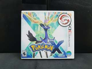 3DS Pokemon X (Used Game)