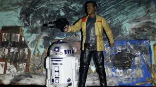 Star wars R2D2 and finn