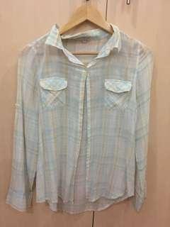 Pastel Plaid Shirt