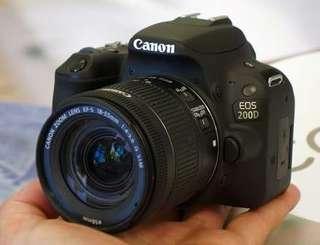 Canon 200D Bis Di Cicil DP Murah Proses Cepat Tanpa CC