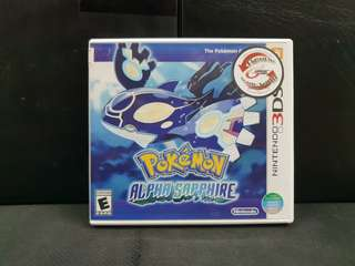 3DS Pokemon Alpha Sapphire (Used Game)