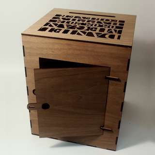 Angbao Box Customised  (custom top cover)