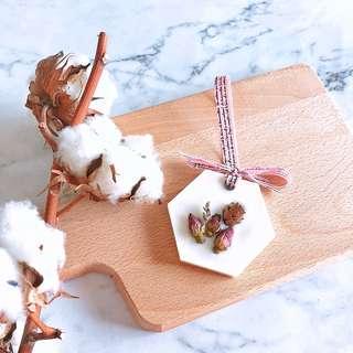 Peppermint Wax Tablet (30g) - Handmade