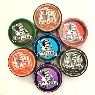 Water based hair pomade