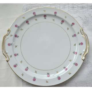 Vintage Noritake China Rosalie 3052 Plate , 27 cm, made in Japan
