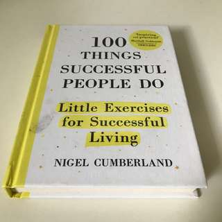 🚚 100 Things Successful People Do