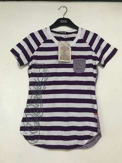 Dickies Purple Stripes Shirt | 100% Cotton