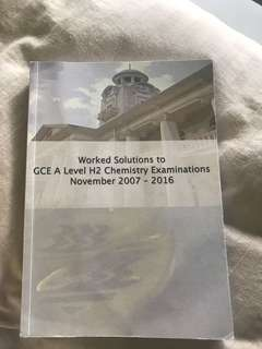 HCI H2 chem 10yr series 2007-2016 detailed solutions