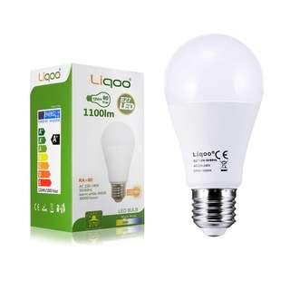207.Liqoo E27 ES 12W LED Bulbs