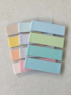 15mm Pastel Washi Samples