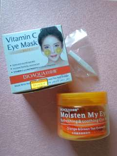 BIO AQUA Vit C EYE MASK