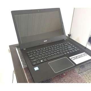 Acer Aspire E5-475 14inch i3 7gen 2.4ghz 1tb 4gbDDR4