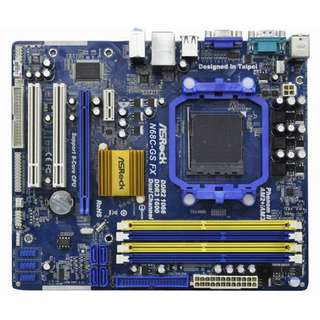 🚚 華擎 N68C-GS FX 主機板、記憶體支援DDR2、DDR3(禁混插)、支援FX與六核心處理器、附擋板