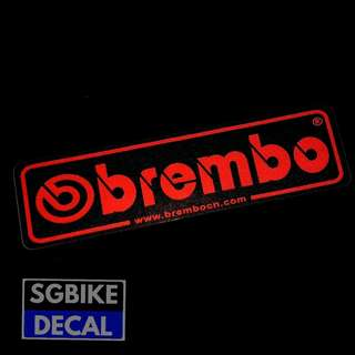 Brembo Reflective Decal