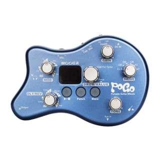 🚚 [免運費]Mooer POGO 吉他迷你綜合效果器 附變壓器