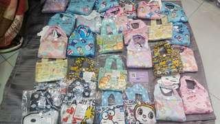 日本直送環保袋迪士尼 saniro系列