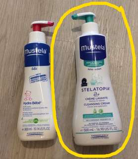 Mustela Stelatopia Cleansing Cream 500ml