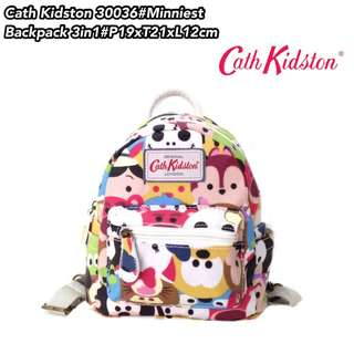 Tas Ransel Import Fashion MINNIEST Backpack 3in 1 30036- 9
