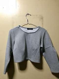 Pullover crop