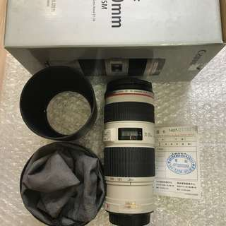 Canon 70-200mm F4 IS USM (公UC)