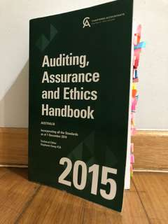 Auditing, Assurance and Ethics Handbook 2015 Edition