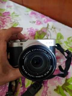 Fujifilm XA3 hitam black
