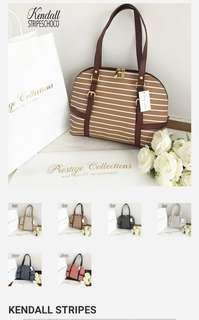 Kendall stripe bags