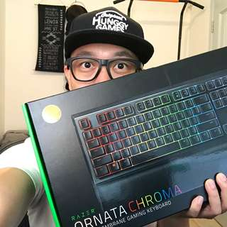 【大J慈善拍】Razer Ornata Chroma 鍵盤