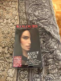 Kolours Medium Brown Hair Dye