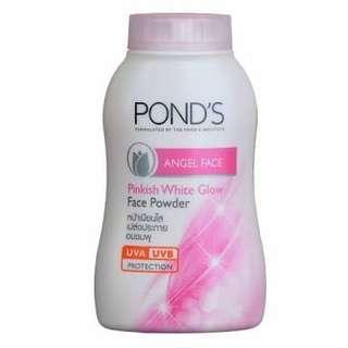 Ponds angel face pinkish white glow face powder