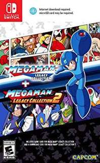 Megaman Legacy Collection Nintendo Switch