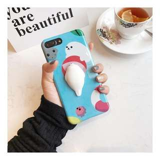 Seal squishy phone casing