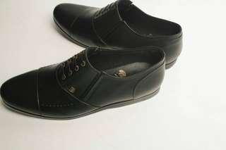 sepatu kulit pria