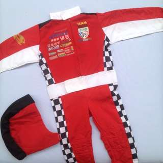 Lightning Mcqueen's Racing suit