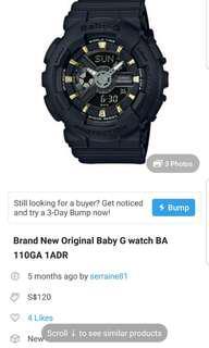 Brand New original Casio watch (price reduced)