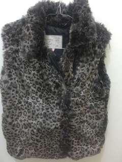 Mark & Spencer fur warm vest