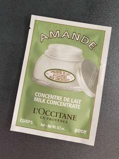 🚚 L'Occitane Almond Firming Milk Concentrate (6ml)
