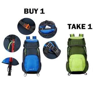 Aisha Waterproof Hiking Travel Foldable Backpack Bag