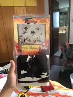 How to train for dragon room Stickers